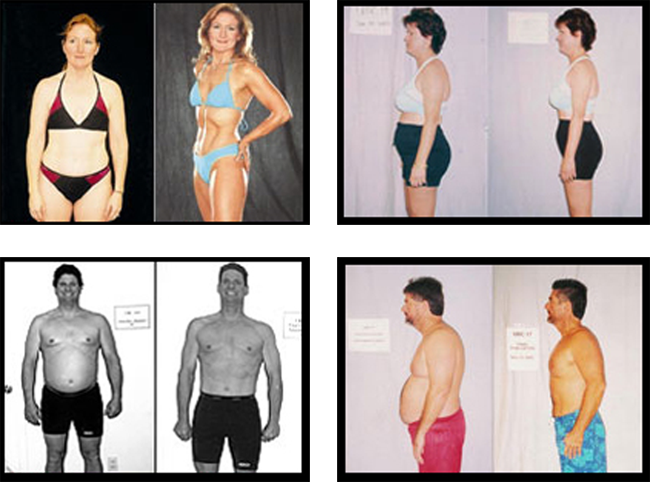 Photos Before and After Zumba Fitness Training